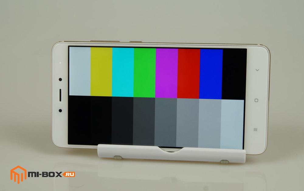 Обзор Xiaomi Redmi Note 4 - дисплей