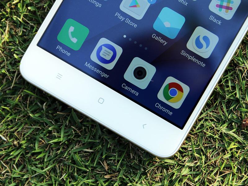 Обзор Xiaomi Redmi Note 4 - кнопки управления