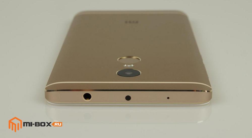 Обзор Xiaomi Redmi Note 4 -верхняя грань