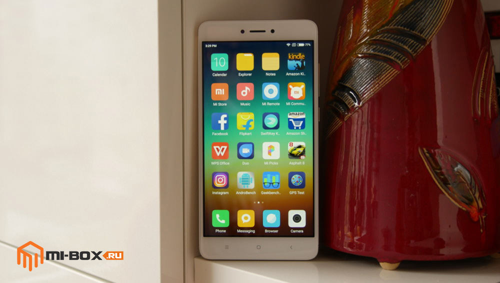 Обзор Xiaomi Redmi Note 4x - дисплей