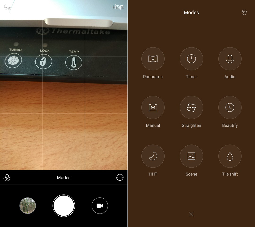 Обзор Xiaomi Redmi Note 4x - камера
