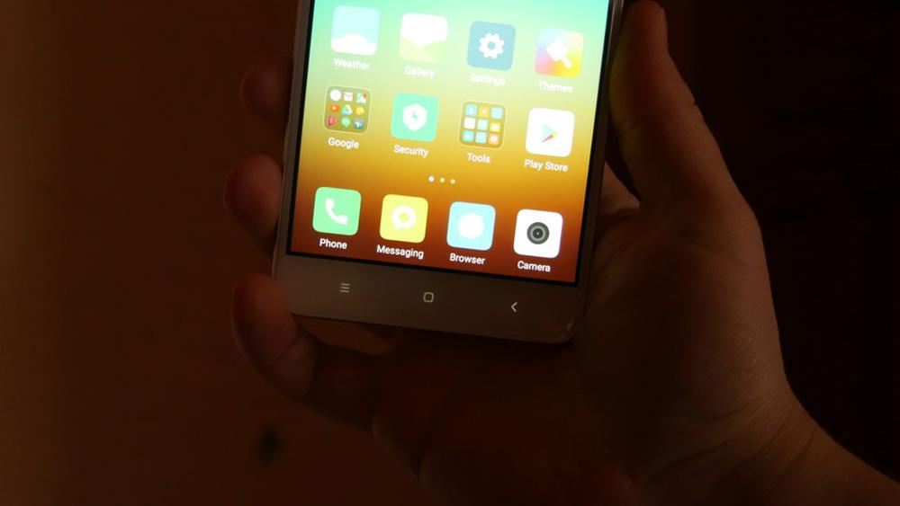Обзор Xiaomi Redmi Note 4x - клавиши управления
