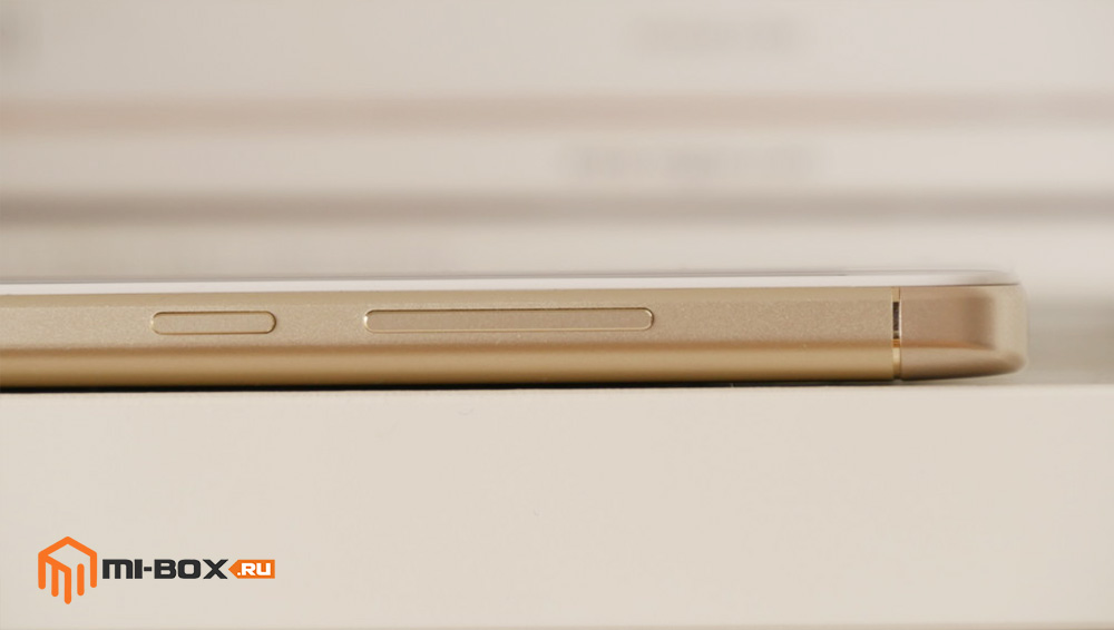 Обзор Xiaomi Redmi Note 4x - правая грань