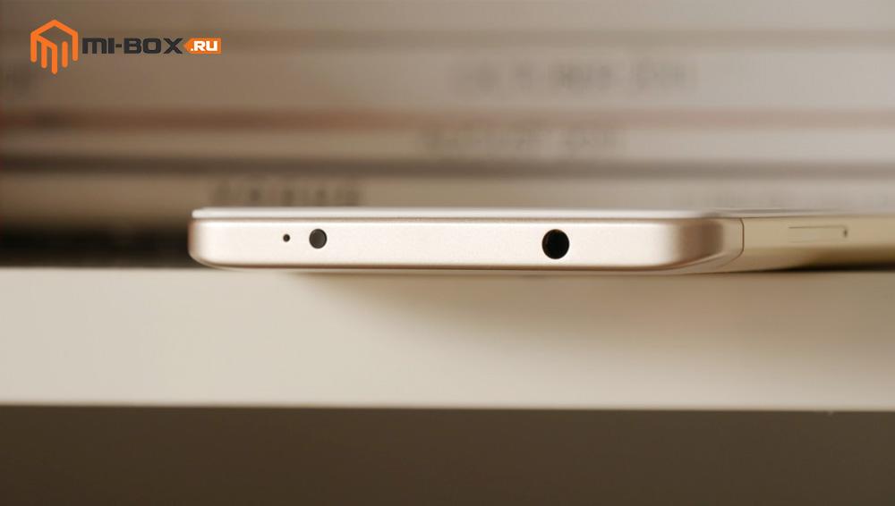 Обзор Xiaomi Redmi Note 4x - верхняя грань