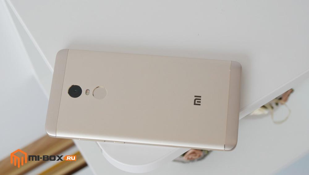 Обзор Xiaomi Redmi Note 4x - задняя сторона