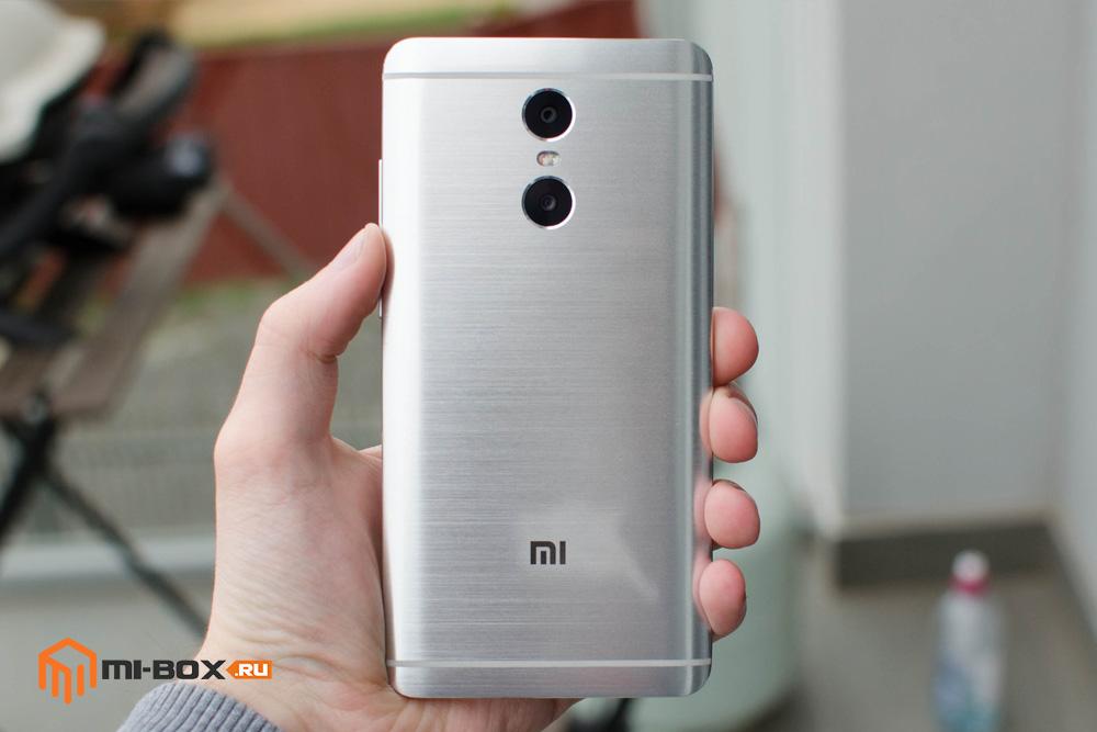 Обзор Xiaomi Redmi Pro - задняя сторона