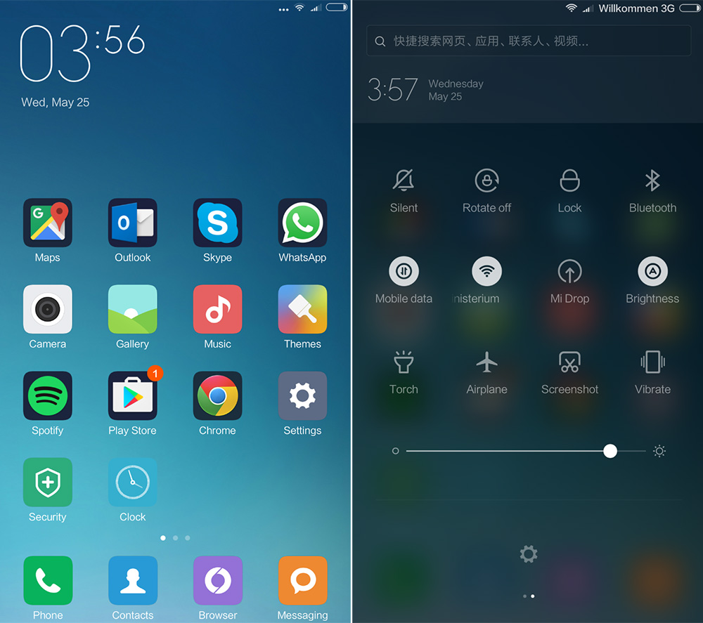 Внешний вид прошивки на Xiaomi Mi Max