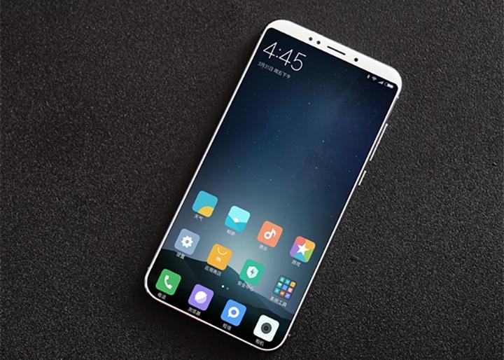 Новые фото Xiaomi Mi6 - тонки рамки и двойная камера