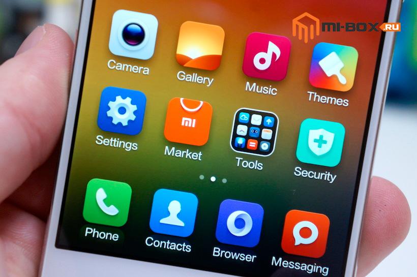 Обзор Xiaomi Mi 4 - дисплей