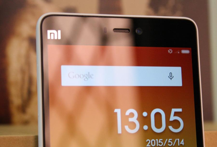Обзор Xiaomi Mi 4i - фронтальная камера