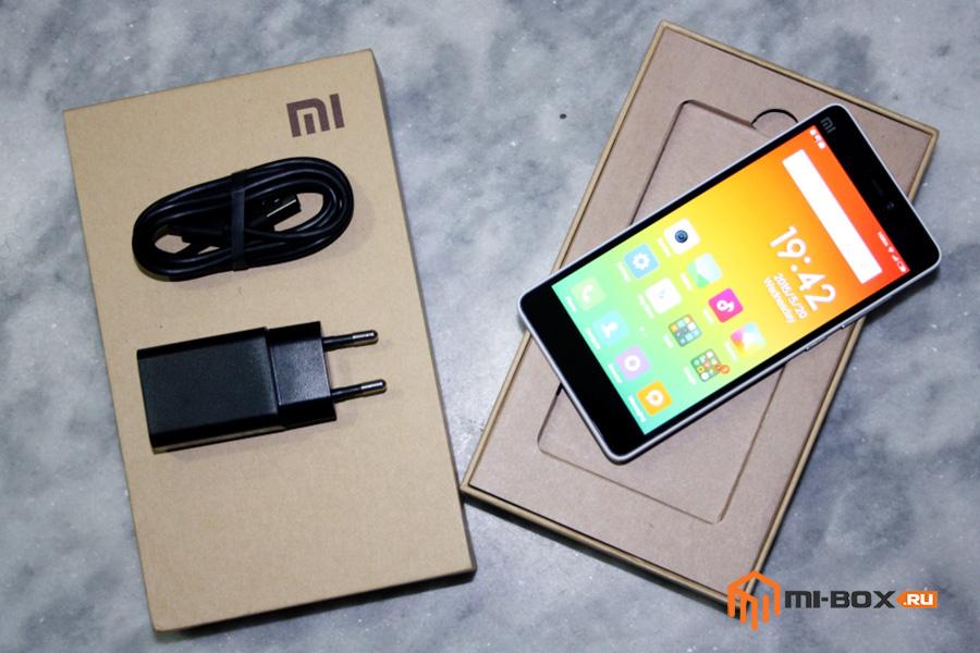Обзор Xiaomi Mi 4i - комплектация