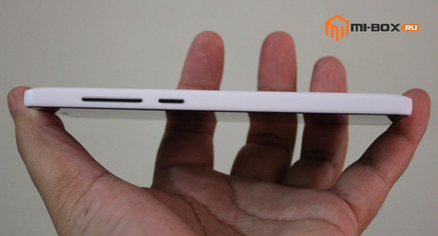 Обзор Xiaomi Mi 4i - правая грань