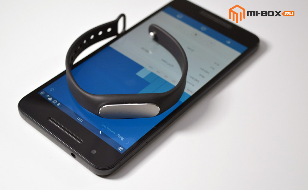 Обзор Xiaomi Mi Band 1S Pulse - трекер и смартфон