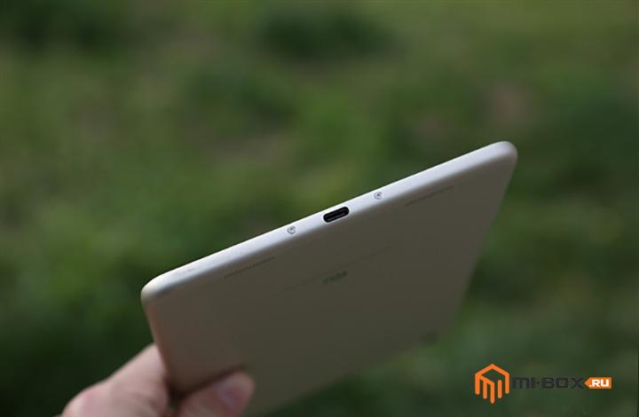Обзор Xiaomi Mi Pad 3 - нижняя грань