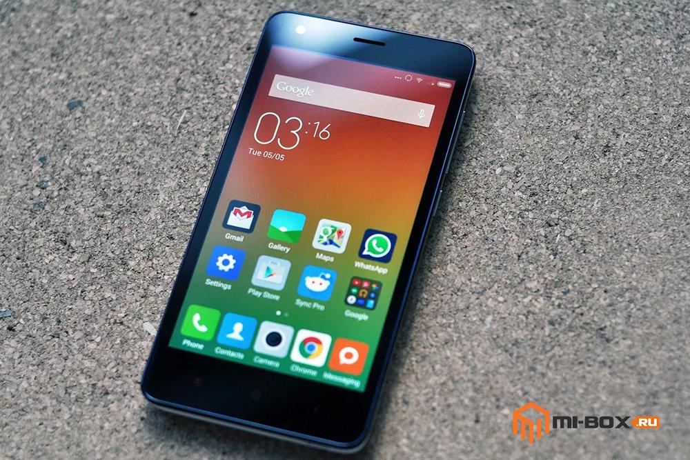 Обзор Xiaomi Redmi 2 - дисплей