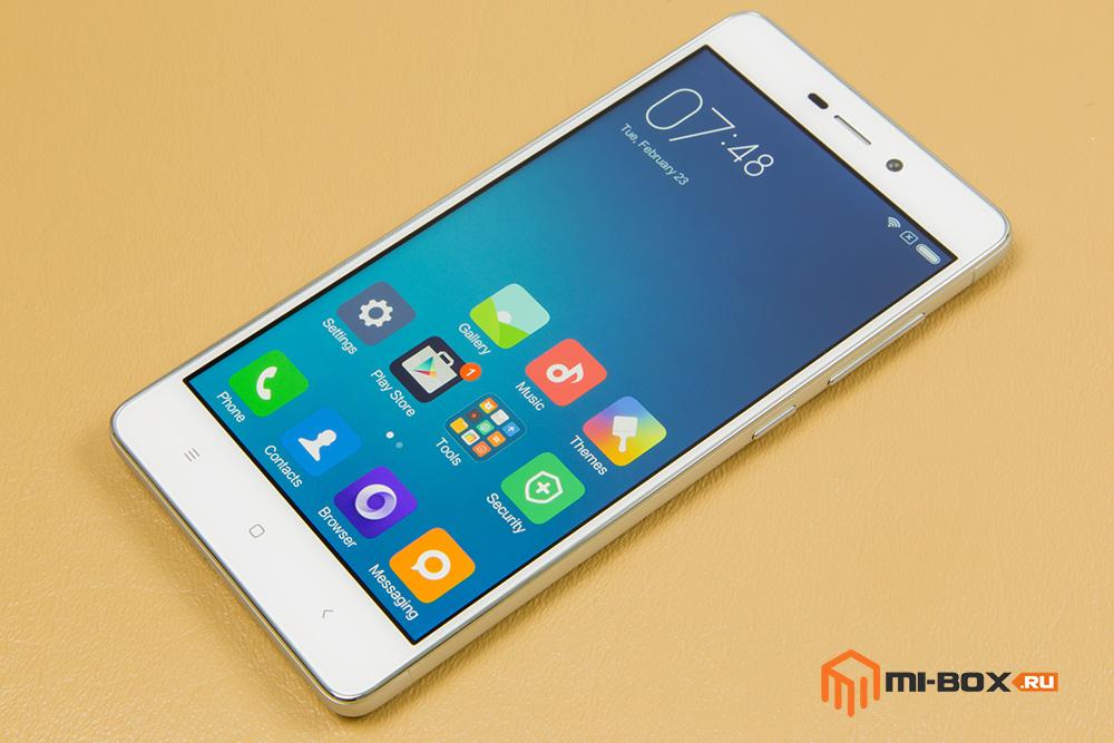 Обзор Xiaomi Redmi 3 - дисплей