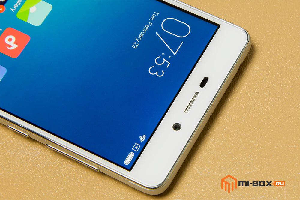Обзор Xiaomi Redmi 3 - фронтальная камера