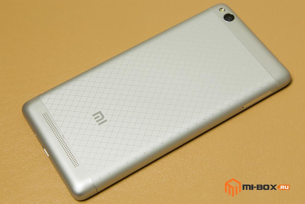Обзор Xiaomi Redmi 3 - задняя сторона