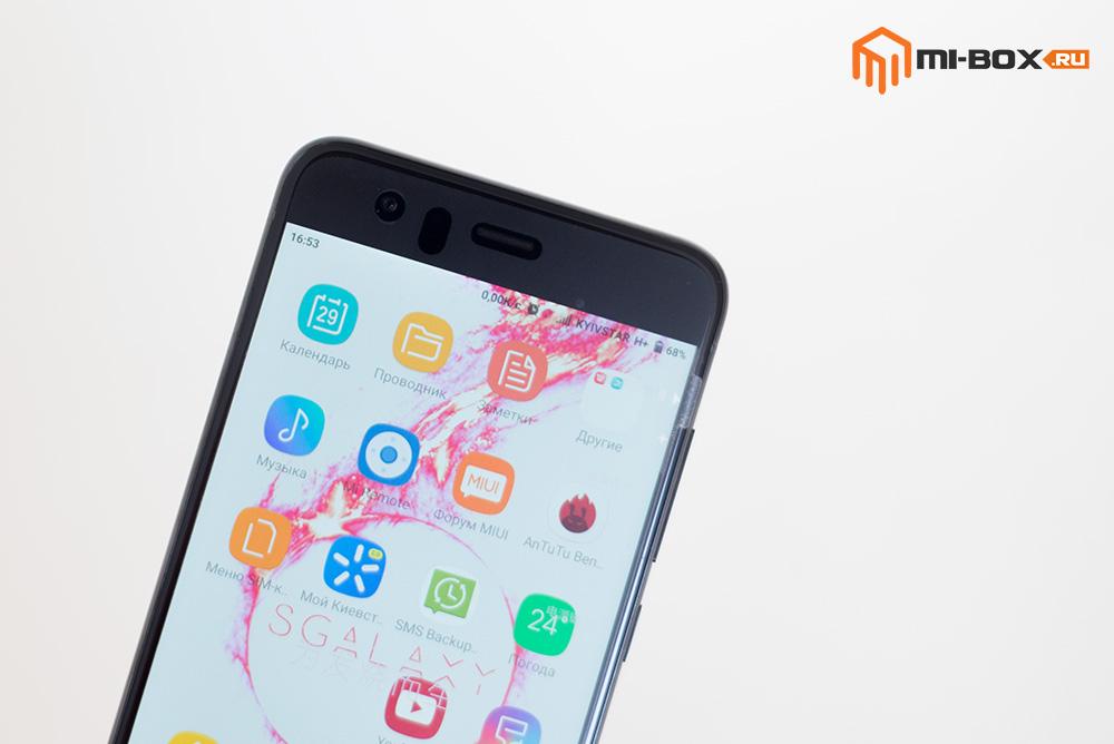Обзор смартфона Xiaomi Mi6 - фронтальная камера