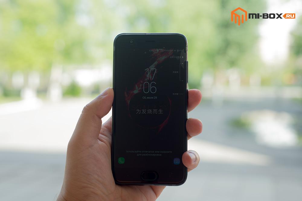 Обзор смартфона Xiaomi Mi6 - передняя сторона