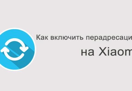 Переадресация на Xiaomi – как включить?