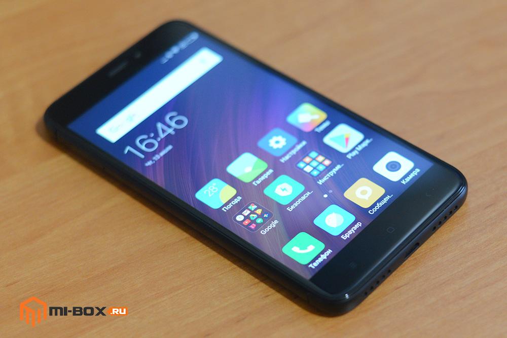 Обзор смартфона Xiaomi Redmi 4x - дисплей