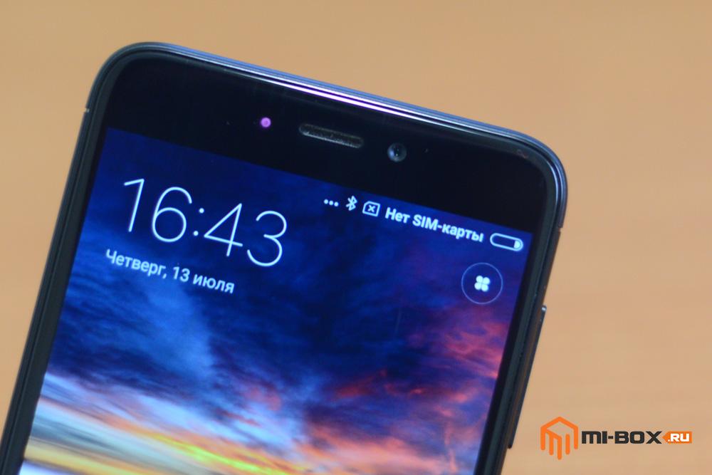 Обзор смартфона Xiaomi Redmi 4x - фронтальная камера