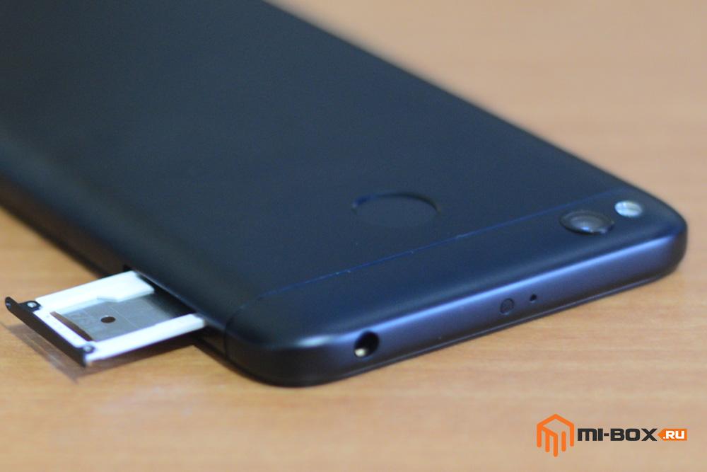 Обзор смартфона Xiaomi Redmi 4x - левая грань