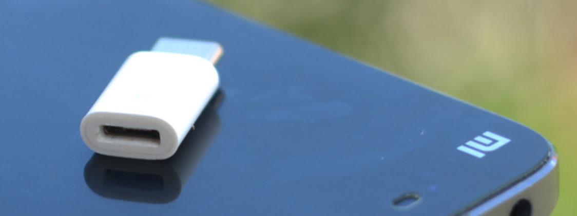 Переходник Xiaomi Micro-USB – USB Type-C