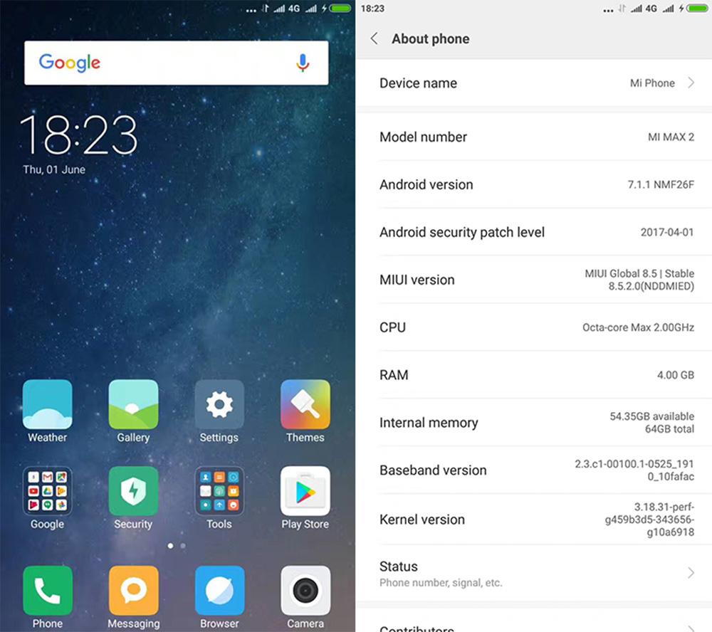 Обзор Xiaomi Mi Max 2 - технические характеристики