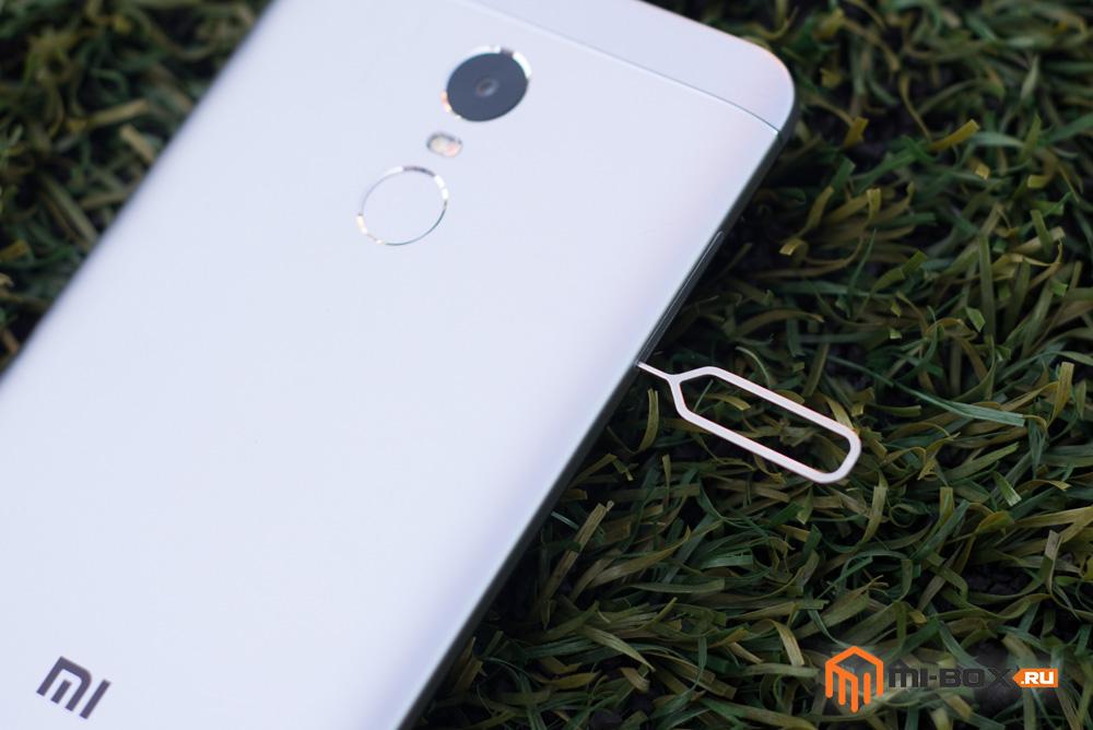 Как вставить симку в Xiaomi Redmi Note 4x