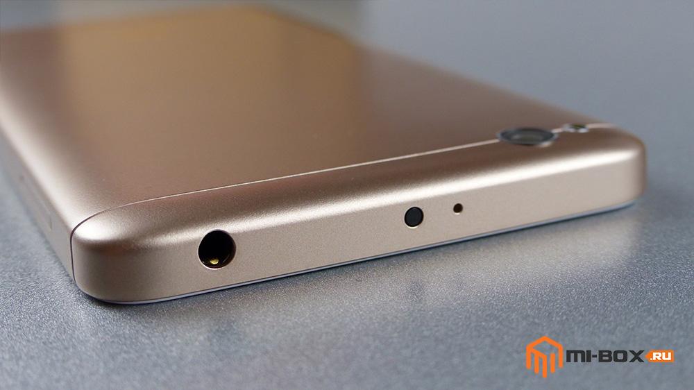 Обзор Xiaomi Redmi 4a - верхняя грань