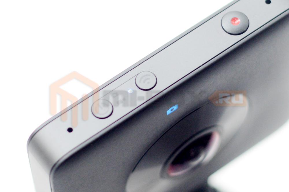 Xiaomi Mi Sphere 360 Camera - кнопка Wi-Fi