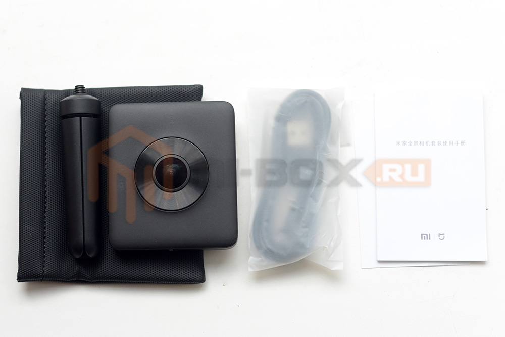Xiaomi Mi Sphere 360 Camera - комплектация