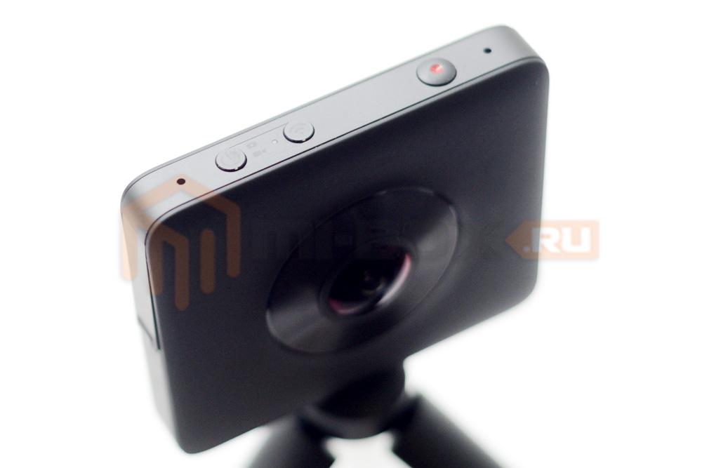 Xiaomi Mi Sphere 360 Camera - верхняя грань