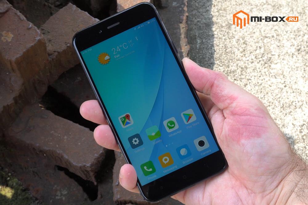 Обзор Xiaomi Mi 5x - дисплей
