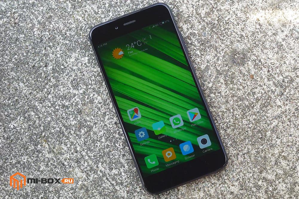 Обзор Xiaomi Mi 5x - внешний вид