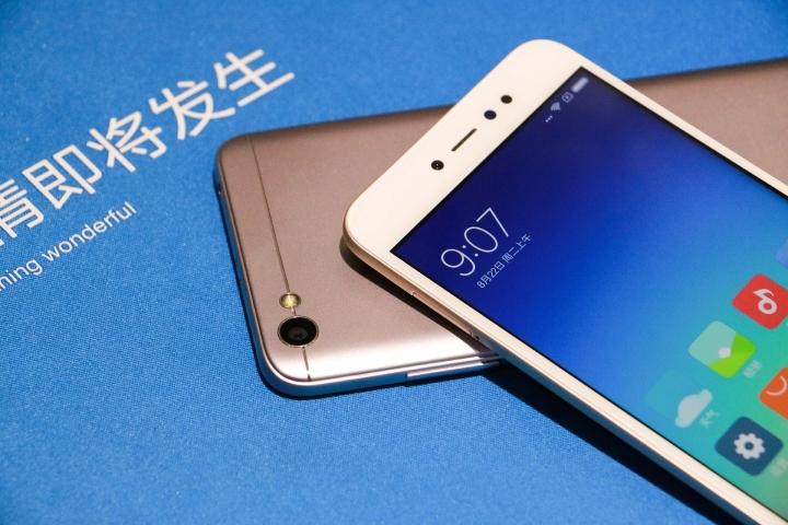 Сматрфон Xiaomi Redmi Note 5A - внешний вид