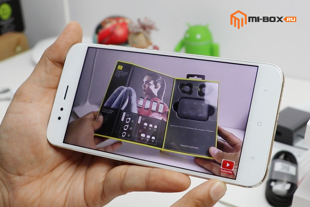 Обзор Xiaomi Mi A1 - дисплей