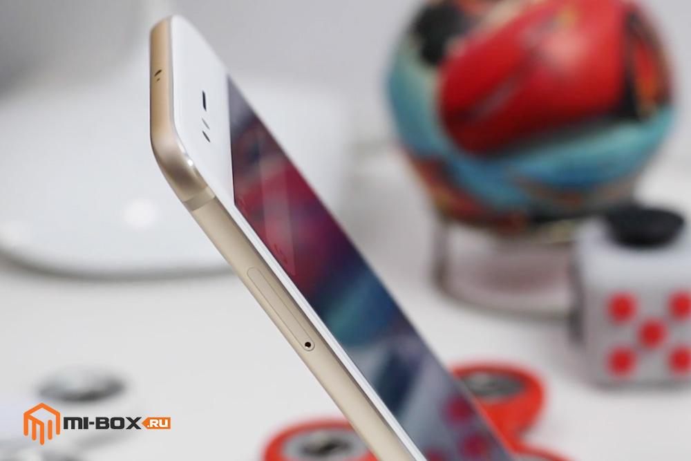 Обзор Xiaomi Mi A1 - левая грань