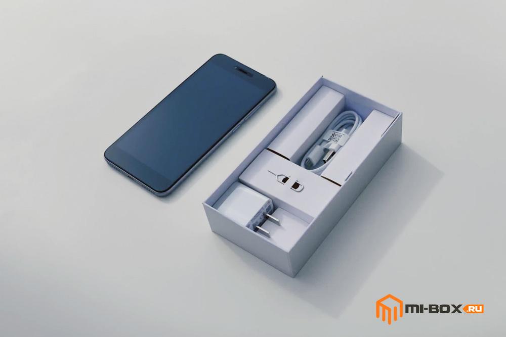 Обзор Xiaomi Redmi Note 5a - комплектация