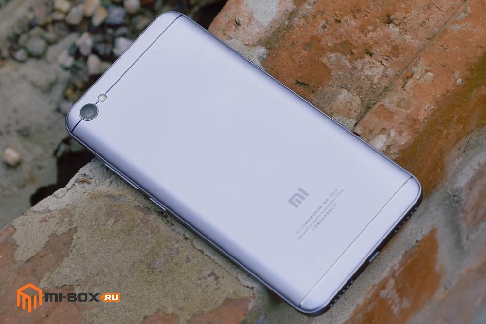 Обзор Xiaomi Redmi Note 5a - задняя сторона