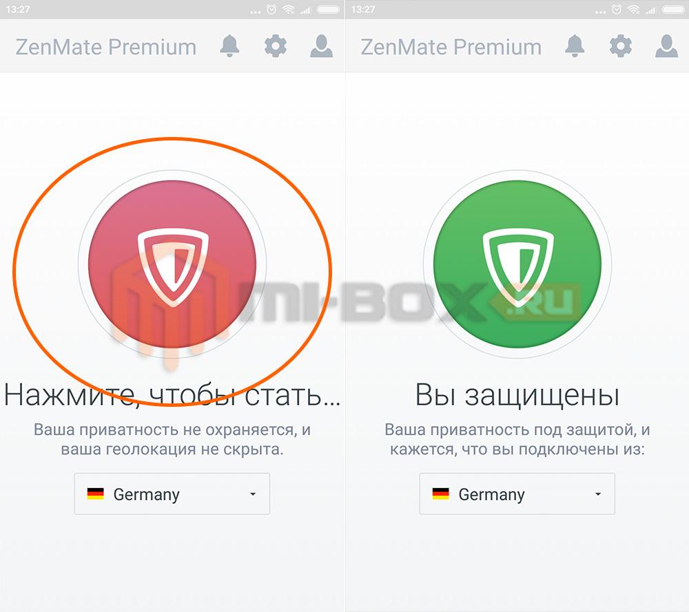 Как добавить VPN на Xiaomi - ZenMate