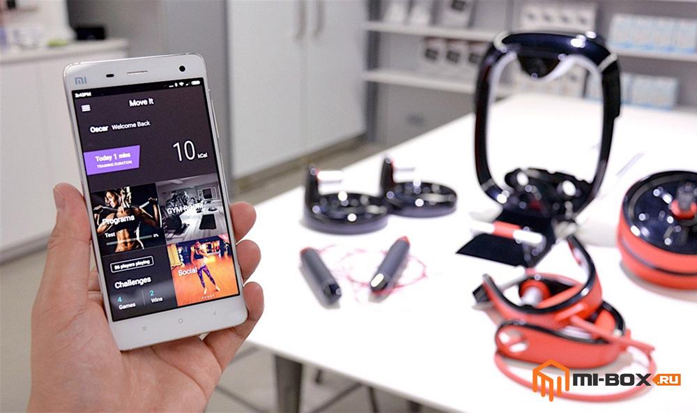 Move It - умный фитнес-тренажер от Xiaomi