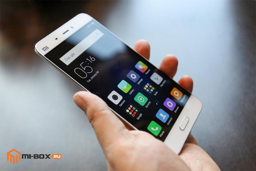 Xiaomi Mi 5 - смартфон с механической кнопкой Домой