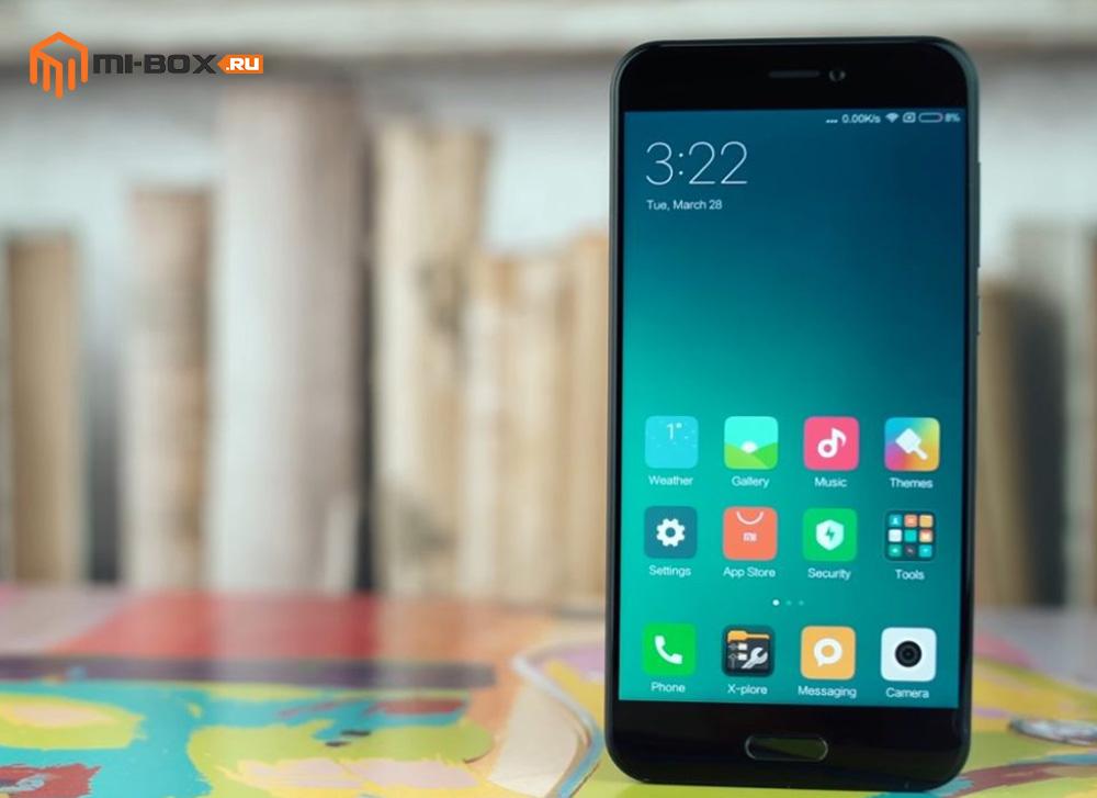 Xiaomi Mi 5c - смартфон с механической кнопкой Домой