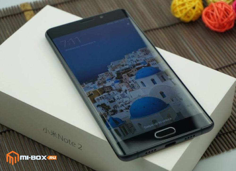 Xiaomi Mi Note 2 - смартфон с механической кнопкой Домой