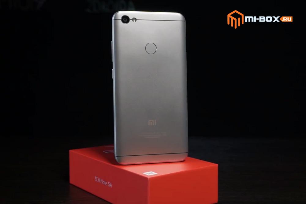 Обзор Xiaomi Redmi Note 5a Prime - внешний вид