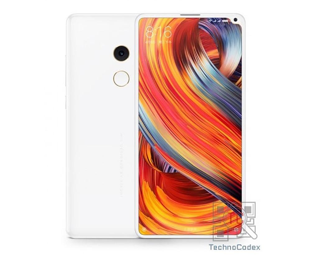 Рендер Xiaomi Mi Mix 2s