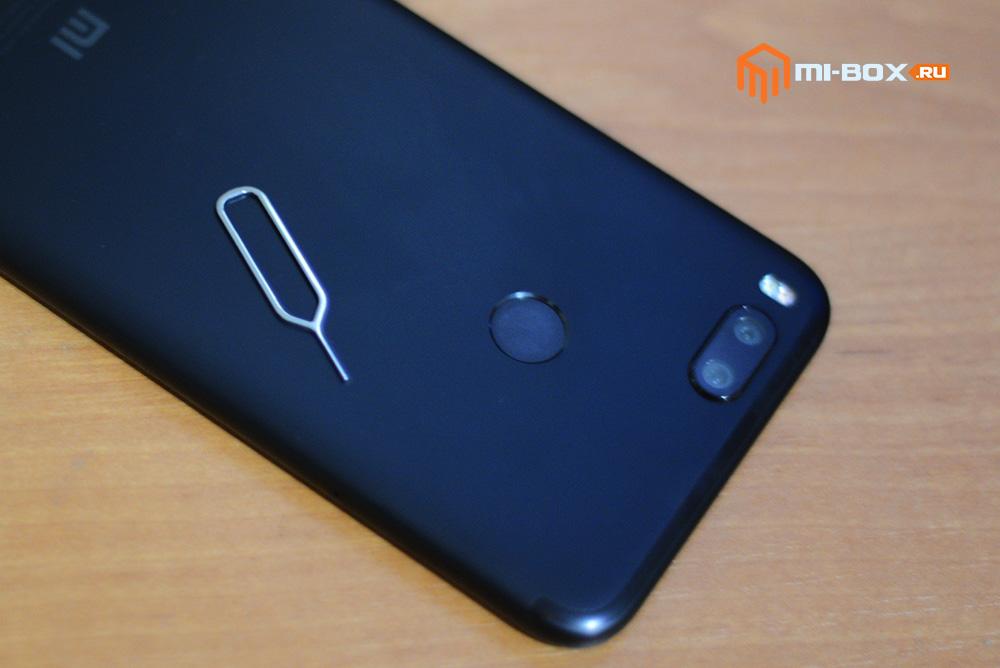 Скрепка для извлечения лотка сим-карт в Xiaomi Mi A1